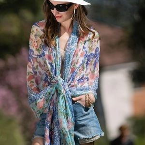 Accessories - 100% Silk XXL Scarf